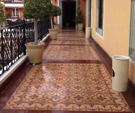 alfombra baldosa hidraulica - Usos y tendencias de la alfombra hidráulica