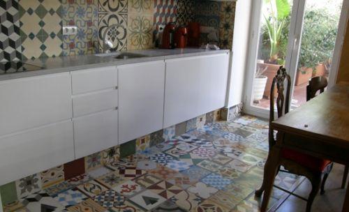Evita el blanco 3 colores de baldosas para cocina que son perfectos para mosaicos - Mosaicos para suelos ...