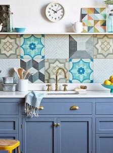 azulejos hidraulicos cocina - Baldosas y suelos hidráulicos para cocina: Diseños y consejos para elegir la mejor