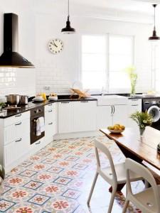 baldosa hidraulica cocina - Baldosas y suelos hidráulicos para cocina: Diseños y consejos para elegir la mejor