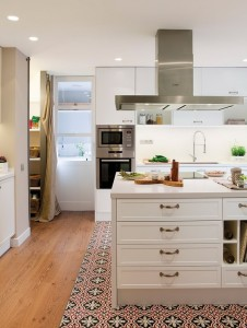 suelo mosaico cocina - Baldosas y suelos hidráulicos para cocina: Diseños y consejos para elegir la mejor